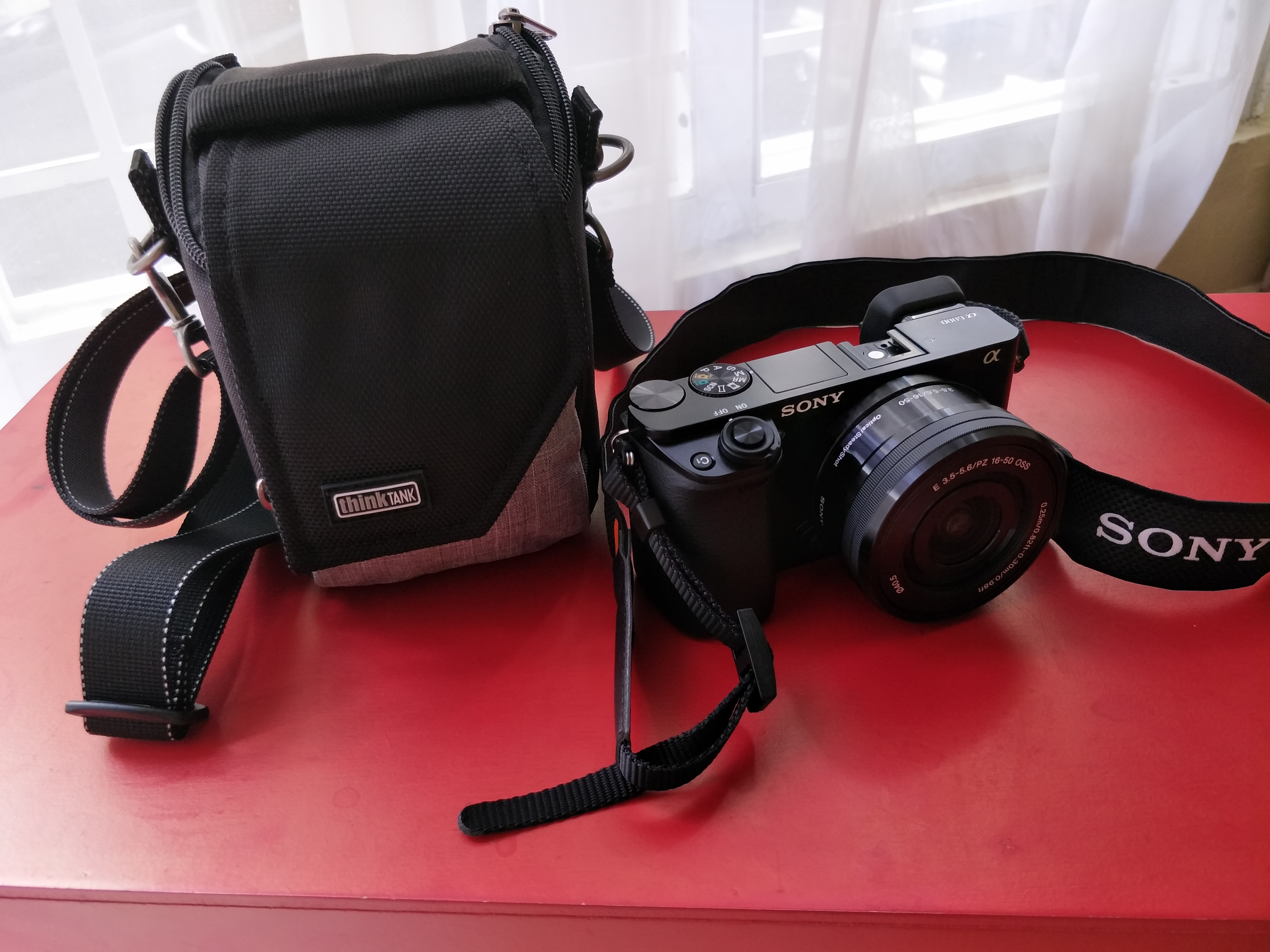 Mirrorless Mover 5 Premium Photography Shoulder Bag Think Tank Leather Denim Strap Kamera Dlsr Slr Canon Fujifilm Sony Share Your Customer Photo
